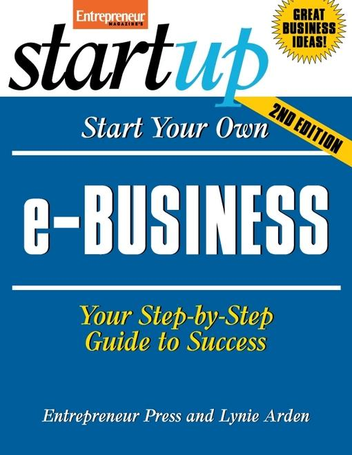 Start Your Own e-Business EB2370003334524