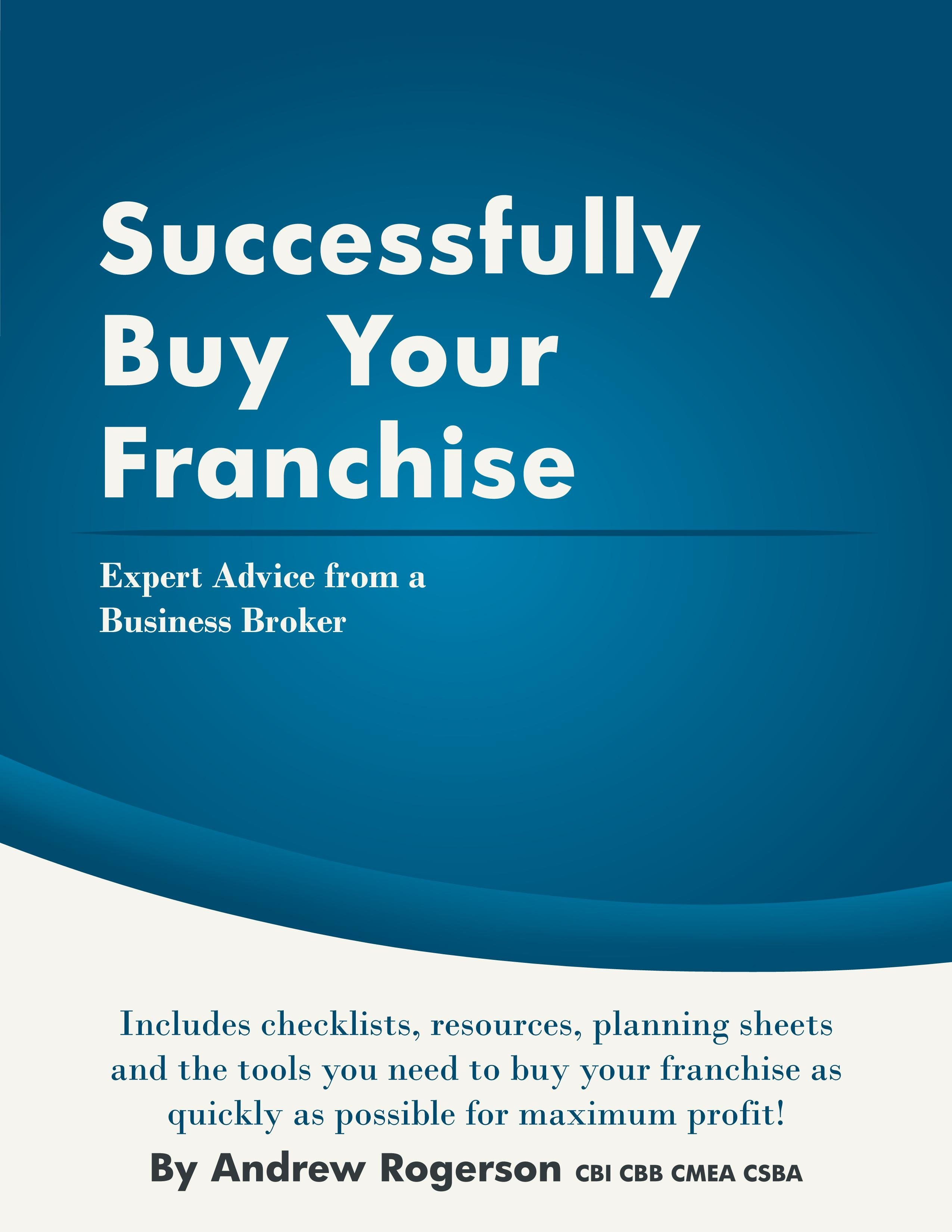 Successfully Buy Your Franchise EB2370003200010