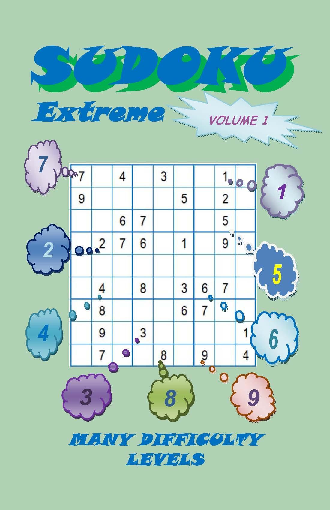Sudoku Extreme, Volume 1 EB2370003441871
