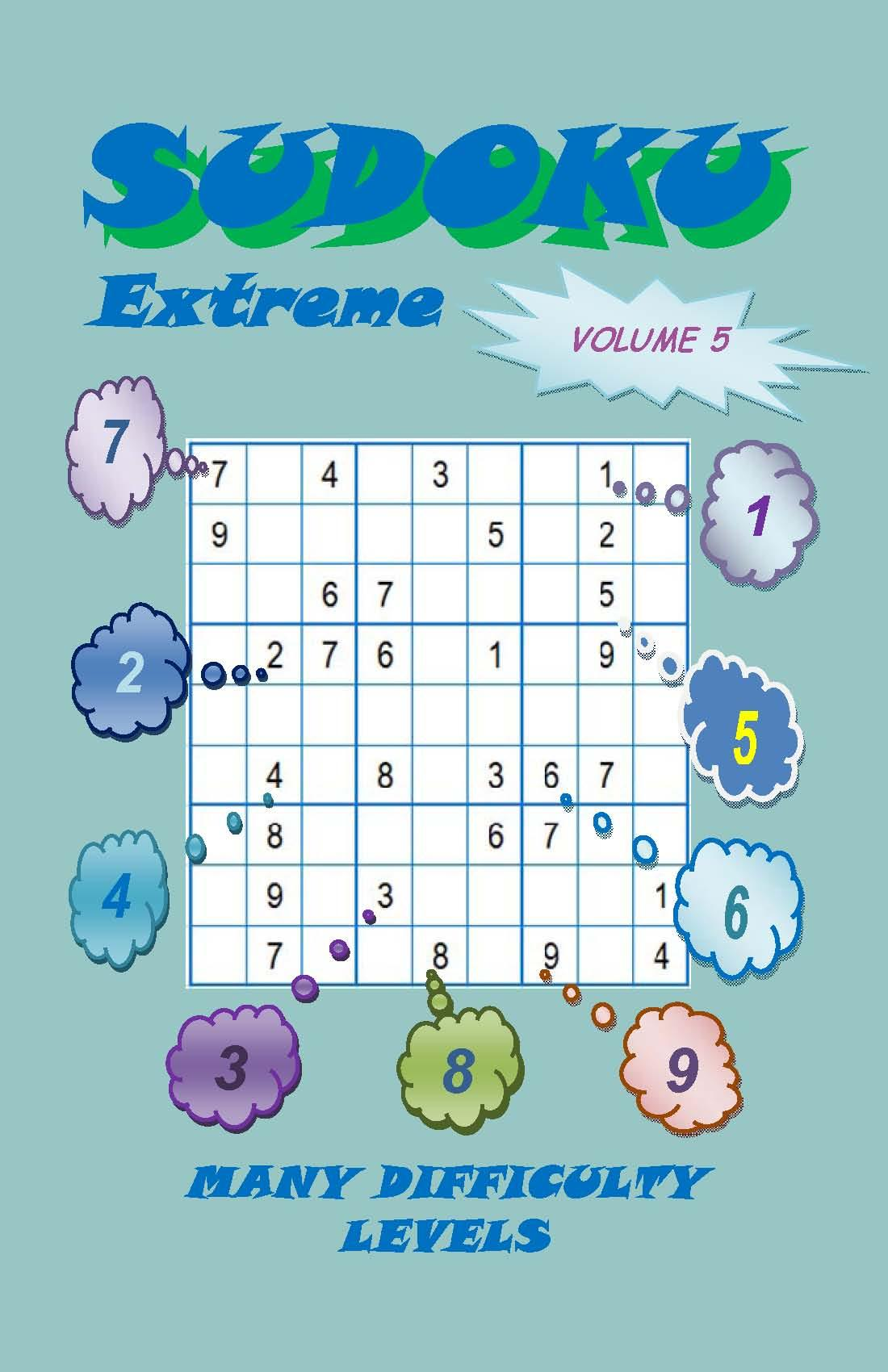 Sudoku Extreme, Volume 5 EB2370003441925