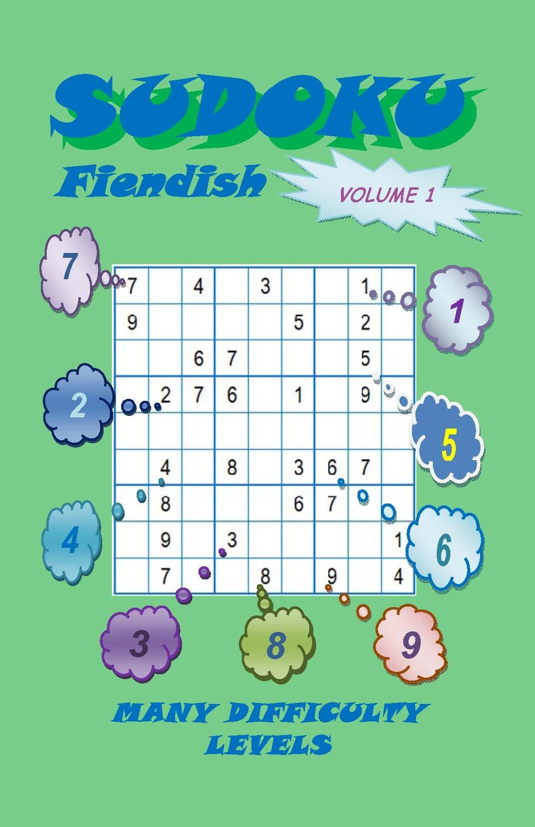 Sudoku Fiendish, Volume 1 EB2370003465136