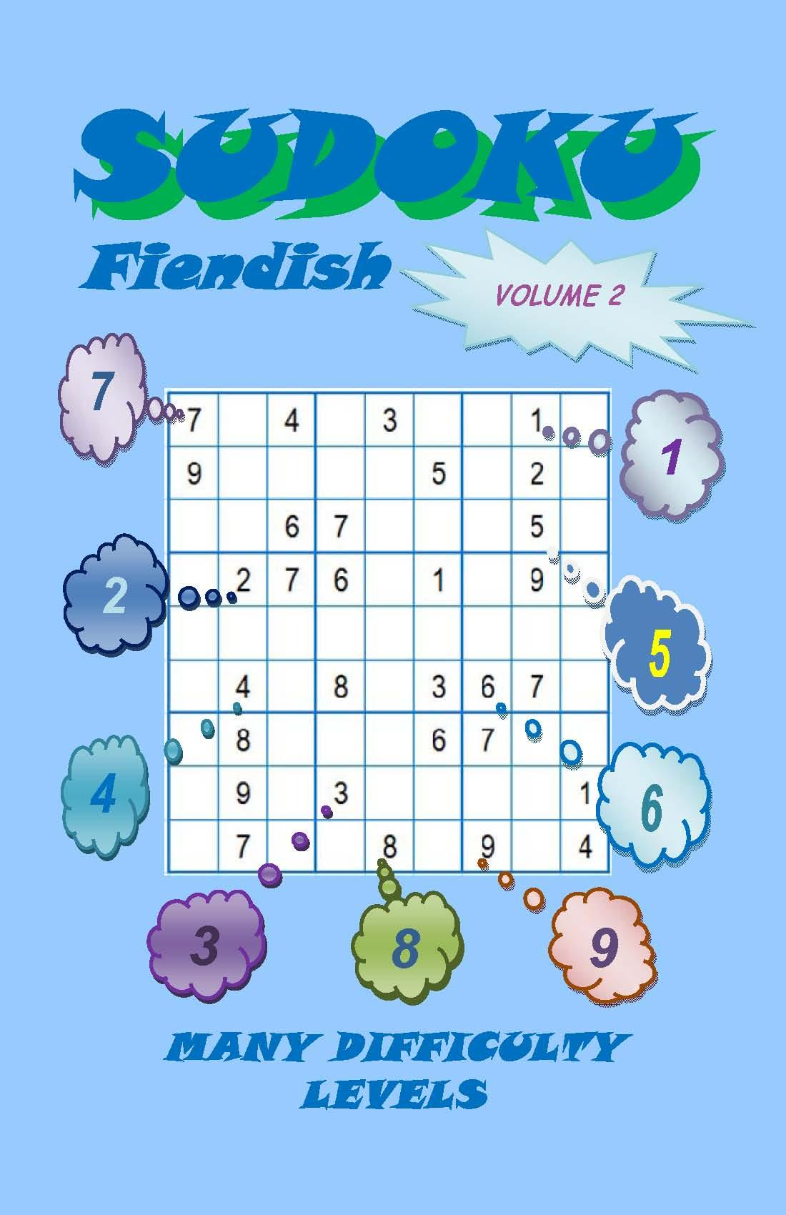 Sudoku Fiendish, Volume 2 EB2370003465112