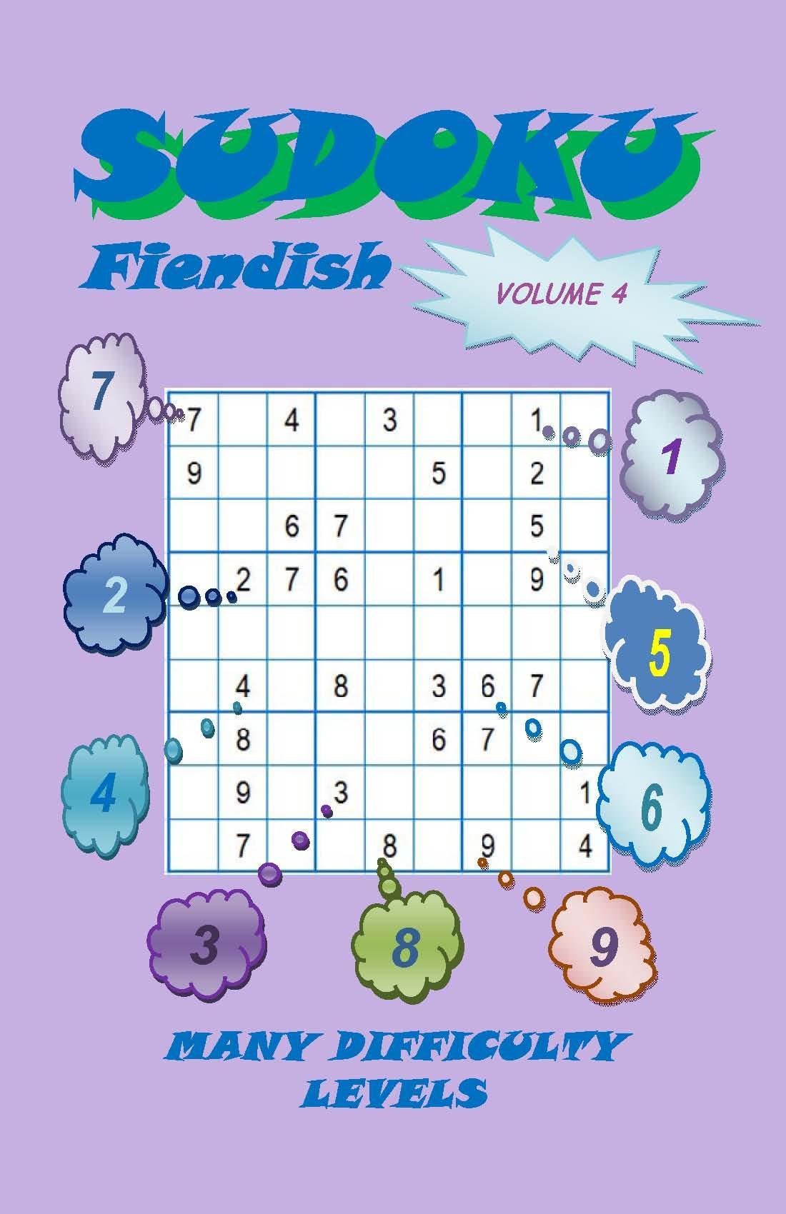 Sudoku Fiendish, Volume 4 EB2370003465129