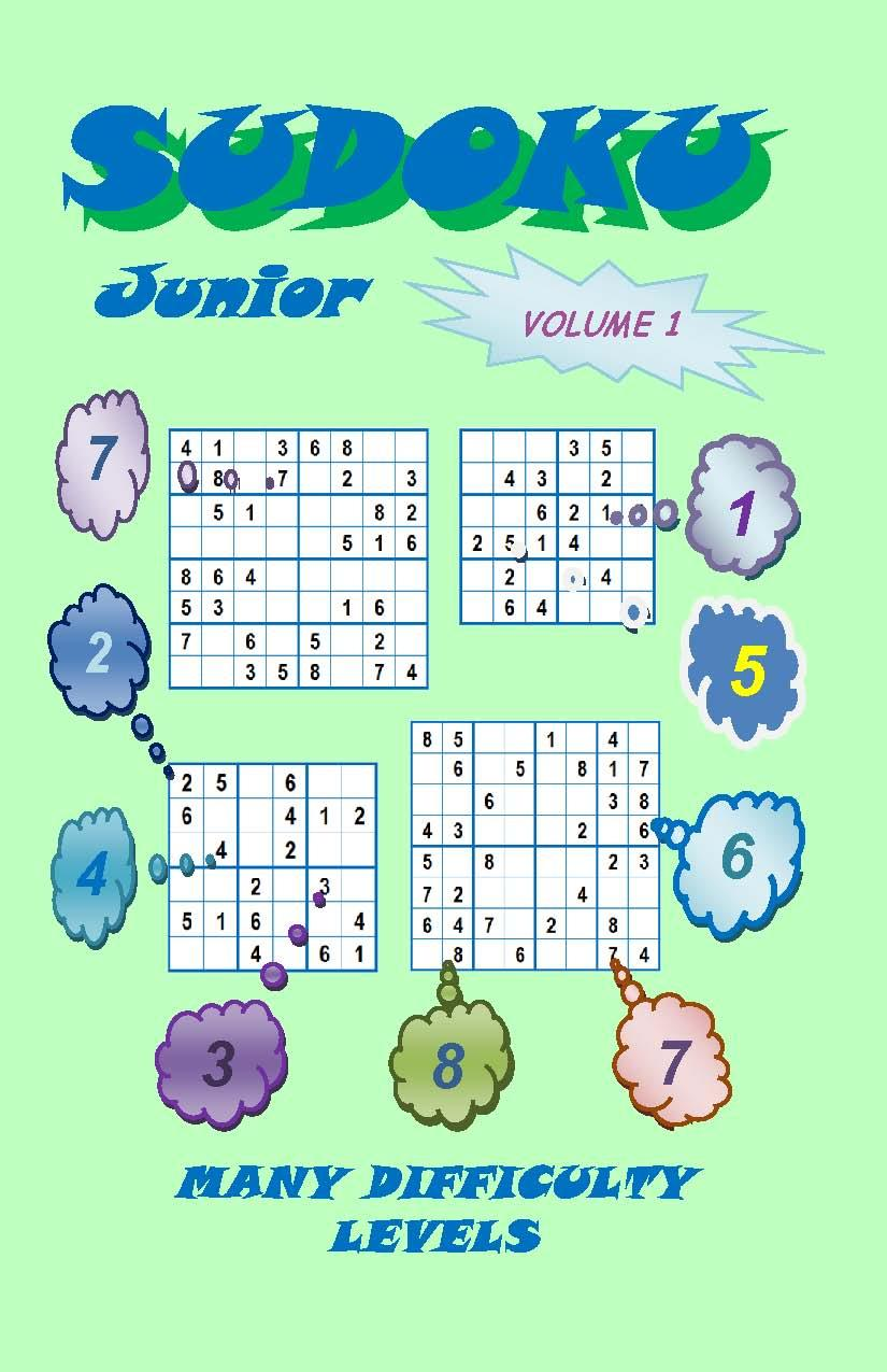 Sudoku Junior, Volume 1 EB2370003884487