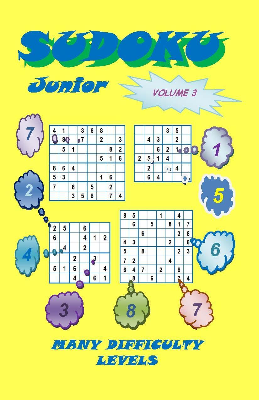 Sudoku Junior, Volume 3