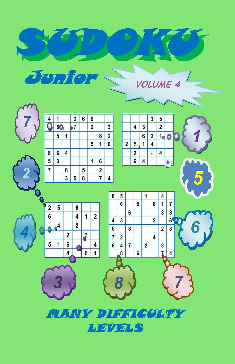 Sudoku Junior, Volume 4 EB2370003884524