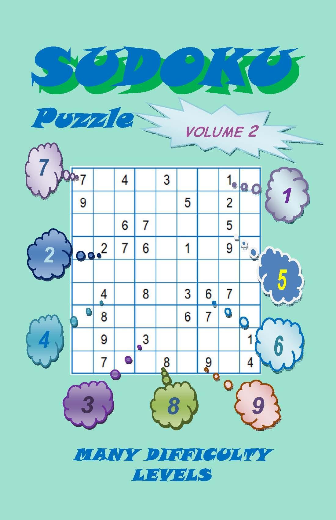 Sudoku Puzzle, Volume 2 EB2370003441833