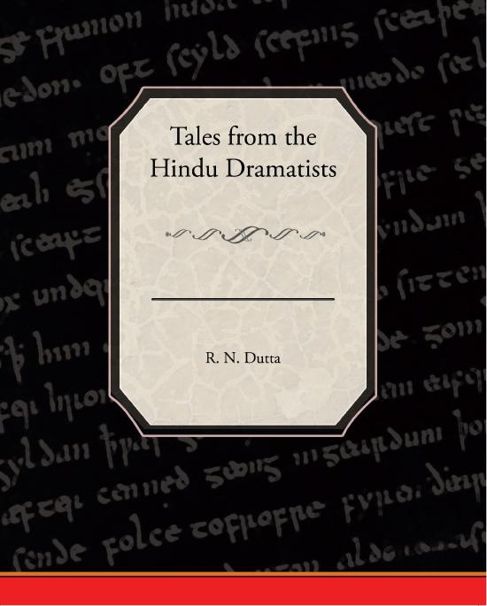 Tales from the Hindu Dramatists EB2370003302042