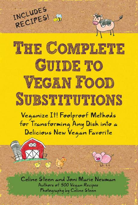 The Complete Guide to Vegan Food Substitutions EB2370003376098