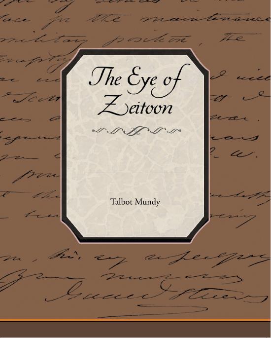 The Eye of Zeitoon EB2370003302196
