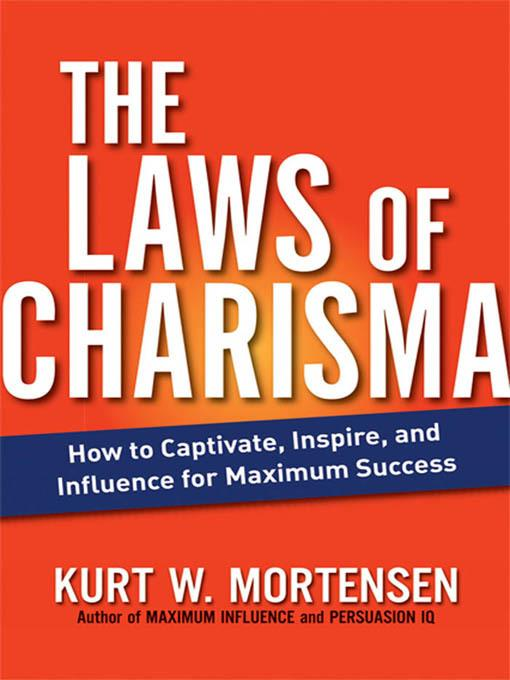 The Laws of Charisma EB2370003278415