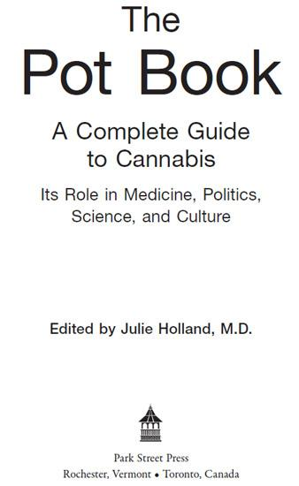 The Pot Book: A Complete Guide to Cannabis EB2370003006773