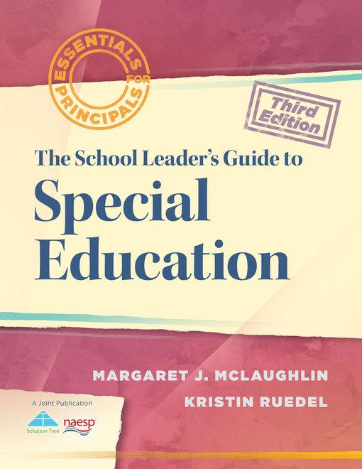The School Leader's Guide to Special Education EB2370004370248