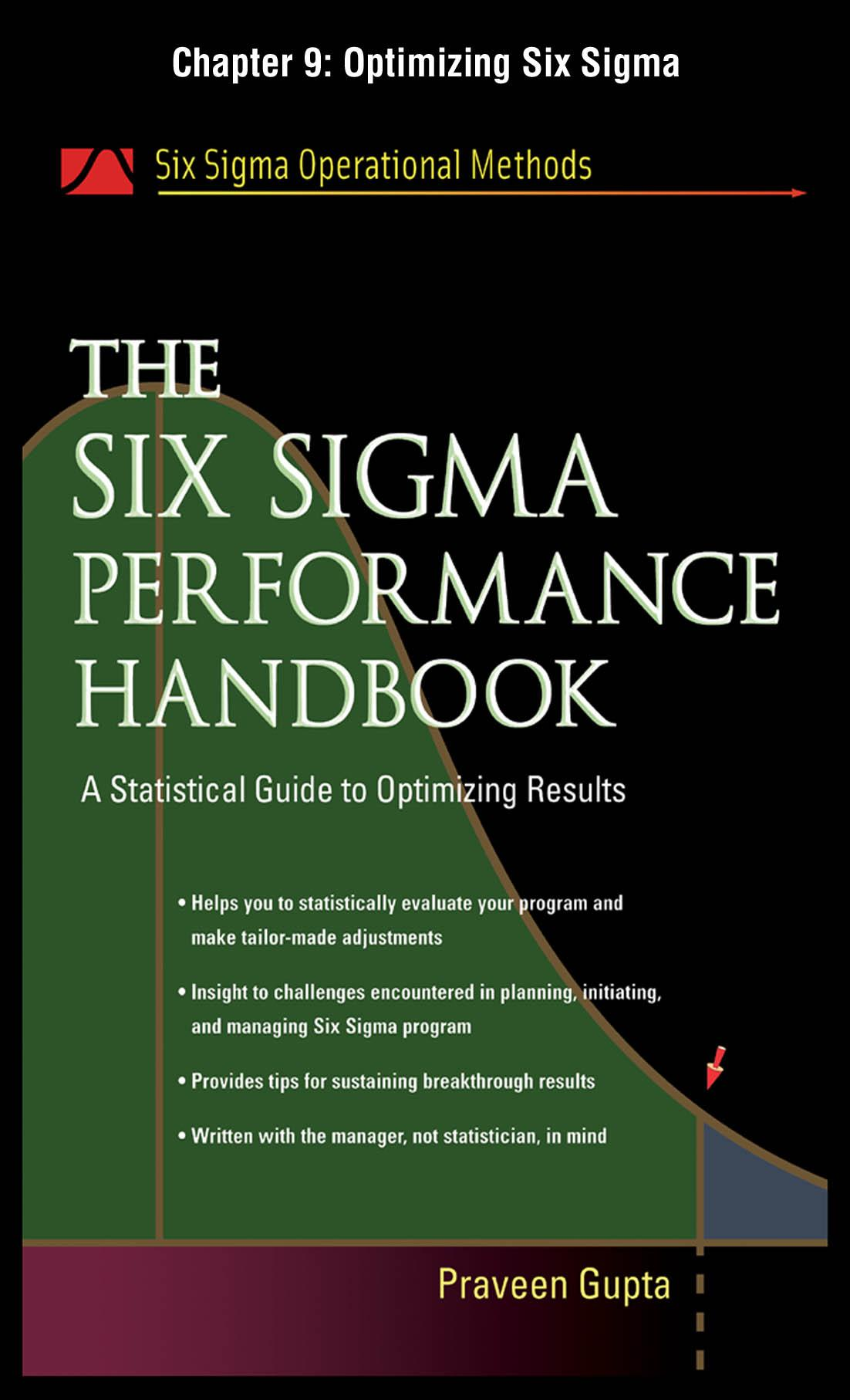 The Six Sigma Performance Handbook: Optimizing Six Sigma EB2370002600651