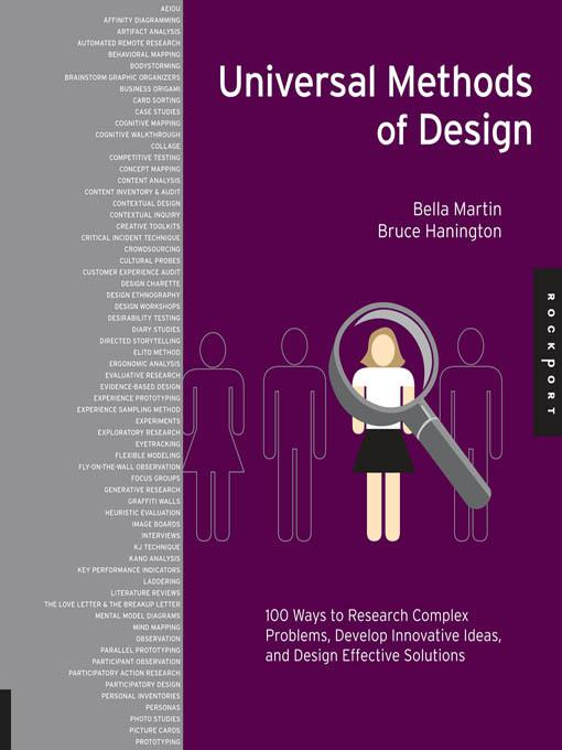Universal Methods of Design: 100 Ways to Research Complex Problems, Develop Innovative Ideas, and Design Effective Solutions EB2370004340371