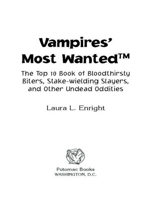 Vampires' Most Wanted EB2370004238807
