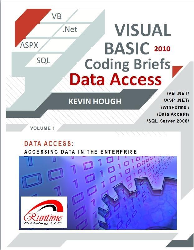Visual Basic 2010 Coding Briefs Data Access EB2370003402063