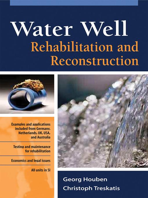 Water Well Rehabilitation and Reconstruction EB2370004337180