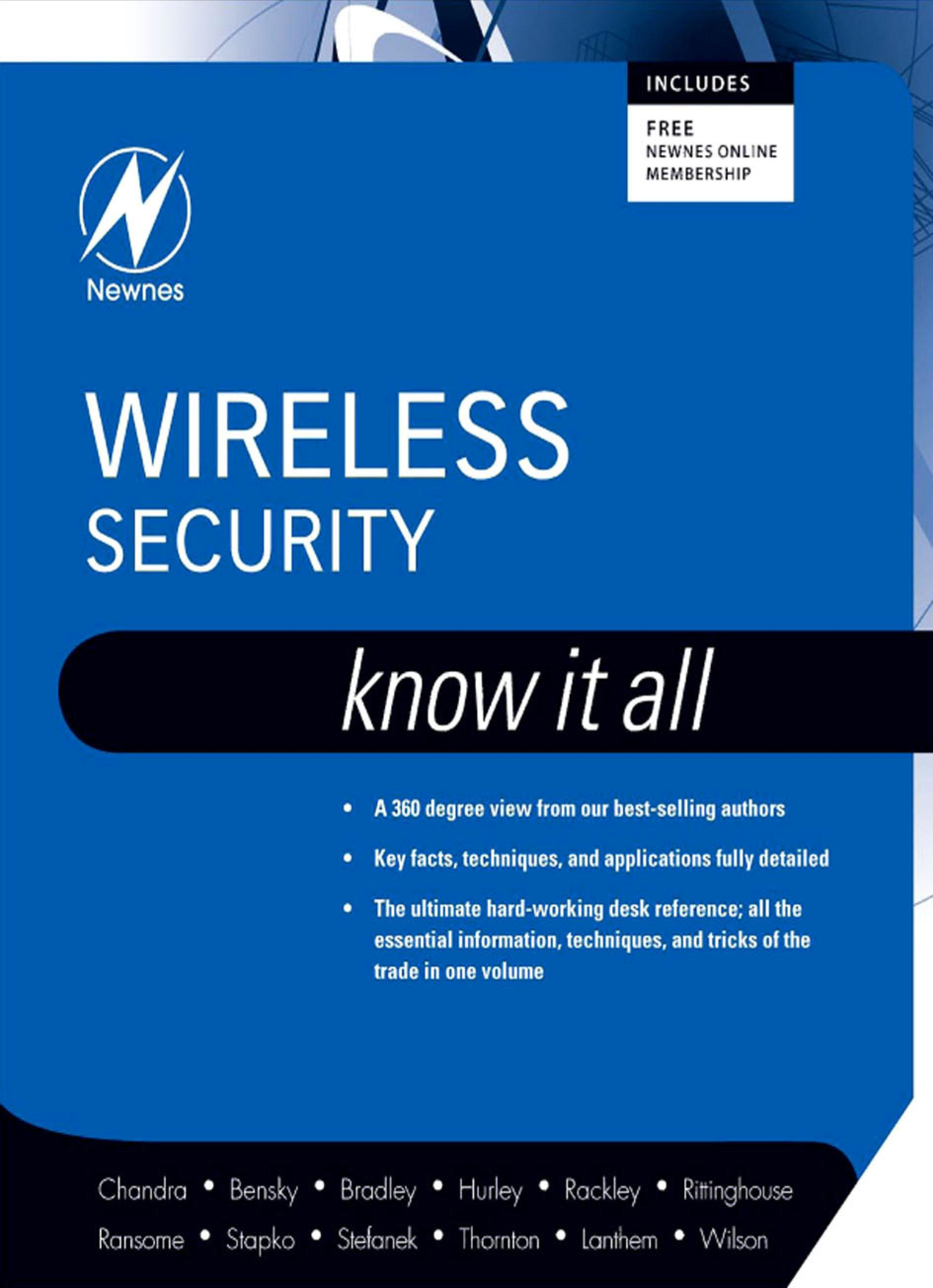 Wireless Security: Know It All: Know It All EB2370003015713