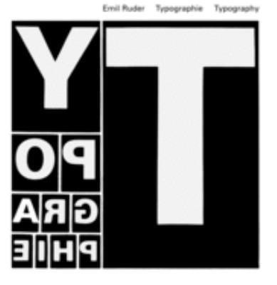Typographie =: Typography 9783721200430