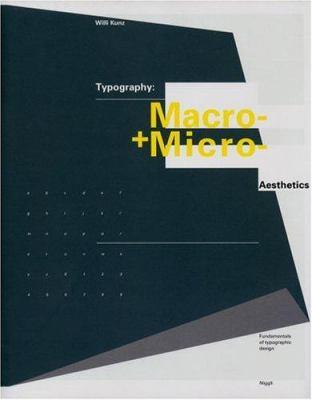 Typography: Macro and Microaesthetics: Fundamentals of Typographic Design 9783721203486