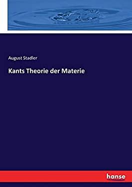 Kants Theorie der Materie (German Edition)