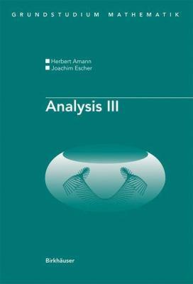 Analysis III 9783764388836