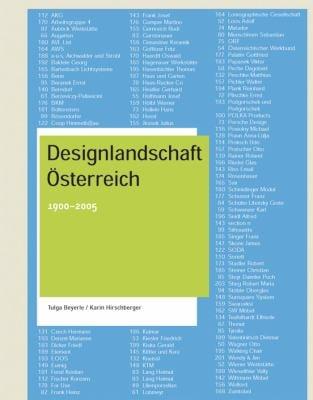 Designlandschaft Osterreich: 1900-2005 9783764373283