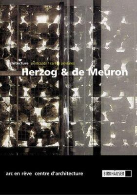 Herzog & de Meuron: 16 Built Projects / 16 Projets Construits 1987-1999: Architecture Postcards / Cartes Postales 9783764362423