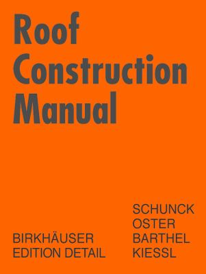 Roof Construction Manual 9783764369866