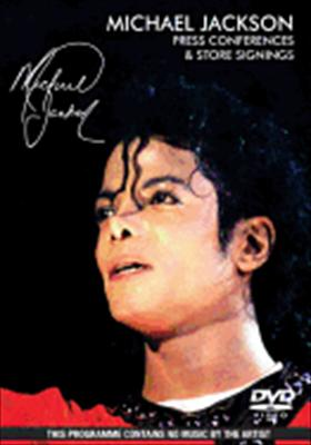 Michael Jackson: Press Conferences & Store Signings