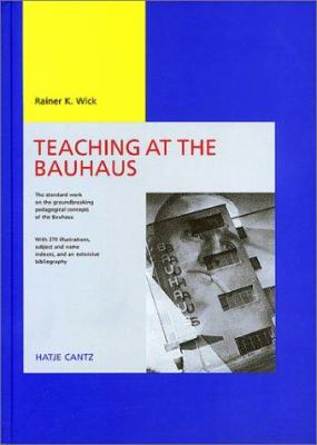 Teaching Bauhaus 9783775708012