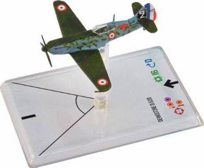 Wings of War WWII: Dewoitine D 520 (Thollon) 9783772895272
