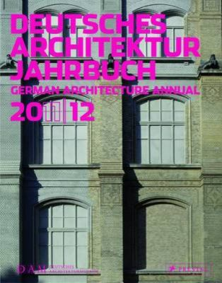 Deutsches Architekture Jahrbuch/German Architectural Annual