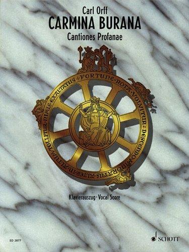 Carmina Burana: Cantiones Profanae 9783795753382