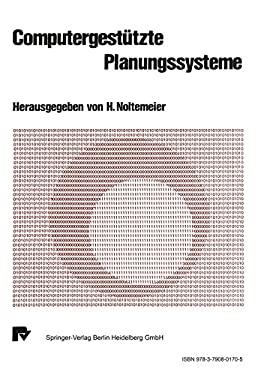 Computergesta1/4tzte Planungssyteme. 9783790801705