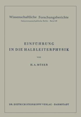 Einfa1/4hrung in Die Halbleiterphysik 9783798501720