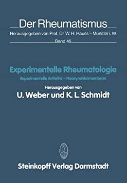 Experimentelle Rheumatologie: Experimentelle Arthritis Neosynovialmembran 9783798506909