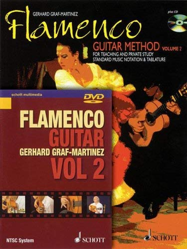 Flamenco Guitar Method, Volume 2: For Teaching and Private Study Standard Music Notation & Tablature [With DVD] 9783795757694