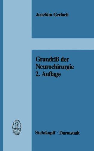 Grundri Der Neurochirurgie 9783798505483