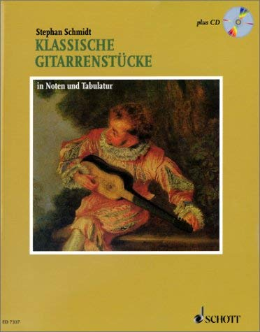 Klassische Gitarrenstucke: In Noten Und Tabulatur [With CD (Audio)] 9783795755294