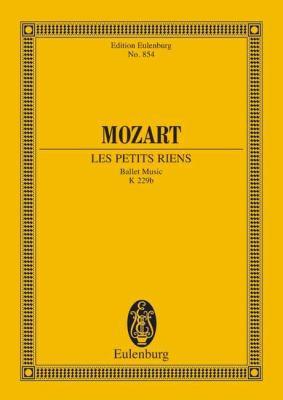 Mozart: Les Petits Riens: Ballet Music 9783795762902