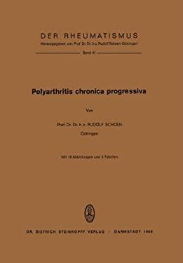 Polyarthritis Chronica Progressiva 9783798503069