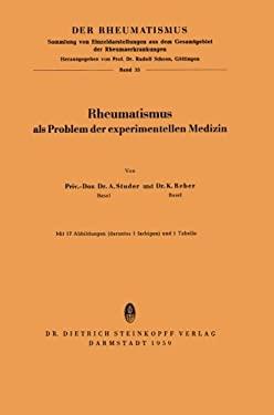 Rheumatismus ALS Problem Der Experimentellen Medizin 9783798501553
