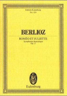 Romeo Et Juliette: Symphonie Dramatique, Op. 17 9783795771126