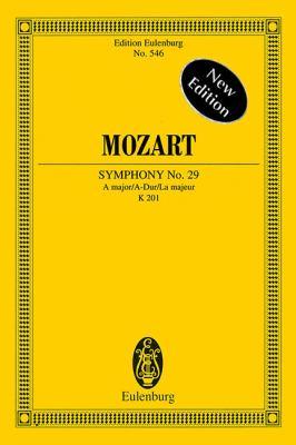 Mozart: Symphony No. 29, A Major/A-Dur/La Majeur 9783795763343