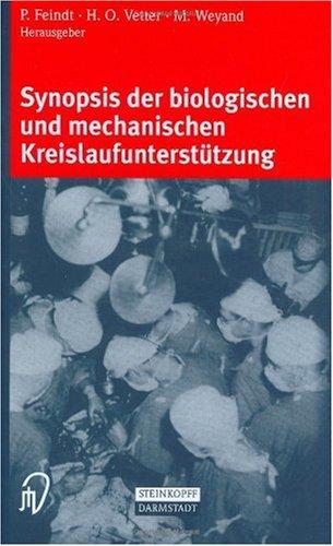 Synopsis Der Biologischen Und Mechanischen Kreislaufunterst Tzung 9783798513815