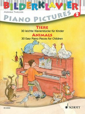 Tiere/Animals/Animaux: 30 Leichte Klavierstucke Fur Kinder/30 Easy Piano Pieces For Children/30 Morceaux Faciles Pour Piano, A L'Usage Des En 9783795758745