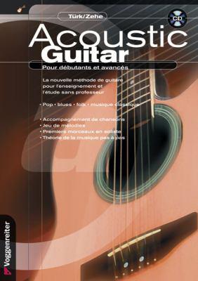 Acoustic Guitar Pour Debutants Et Avances [With CD (Audio)] 9783802405693