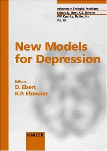 New Models for Depression: 9783805566988